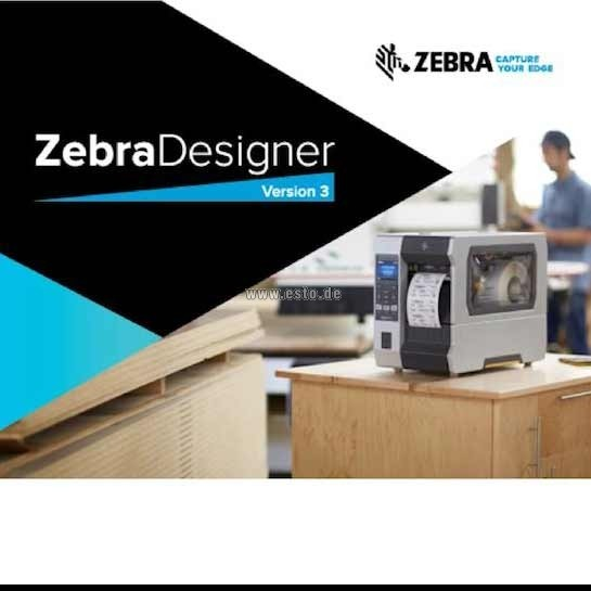 Etikettensoftware Zebra Designer Pro3 Vollversion