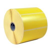 Thermotransferpapier Etiketten gelb HKS 3